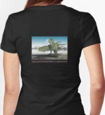 Giganotosaurus Carolinii Womens Fitted T-Shirt