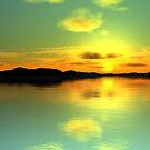 Sunset Island by Hugh Fathers