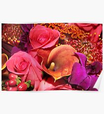 Floral Vibrance   Poster