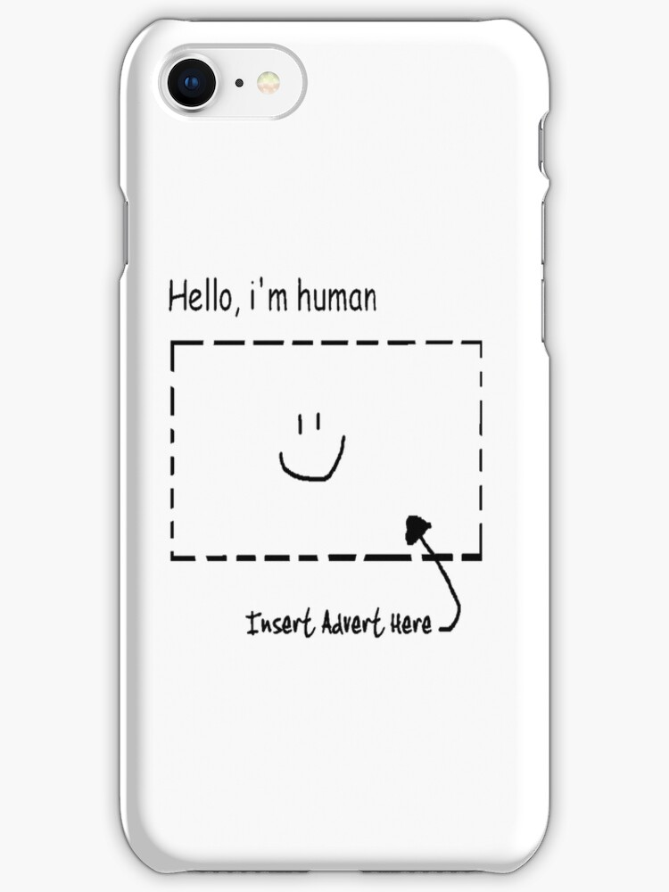 Hello, i'm human by chrisp81