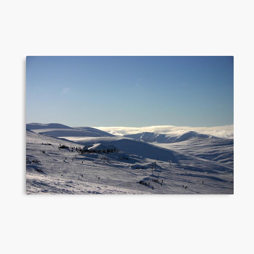 Ptarmigan & beyond, Cairngorm & Monadhliath Canvas Print