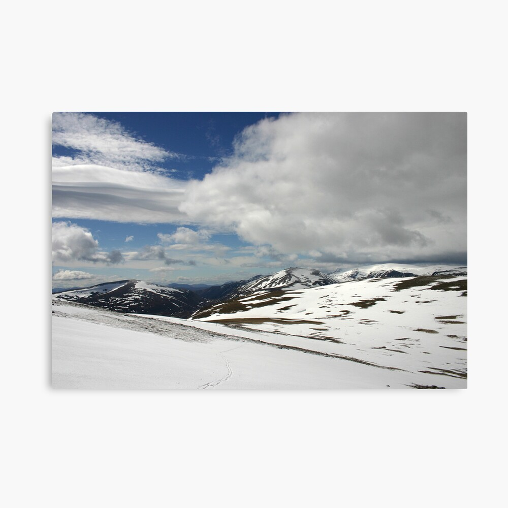 South from Bynack More, Cairngorm & Monadhliath Canvas Print
