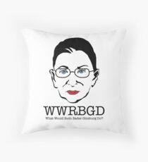 What Would Ruth Ginsburg Do? Dekokissen