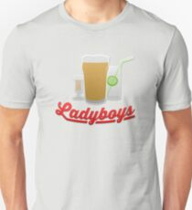 Alan Partridge - Ladyboys Slim Fit T-Shirt