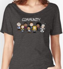 Greendale's Peanuts  Women's Relaxed Fit T-Shirt