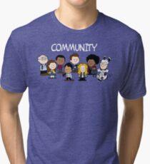 Greendale's Peanuts  Tri-blend T-Shirt