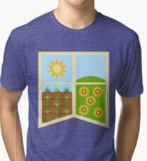 Earth Banner Tri-blend T-Shirt