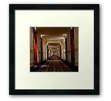 Oberoi Hallway Framed Print