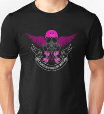 Gladstone Roller Derby League Black Tee T-Shirt