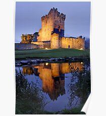 Ross Castle, Ireland Poster