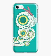 Caterpie Pokemuerto   Pokemon & Day of The Dead Mashup iPhone Case/Skin