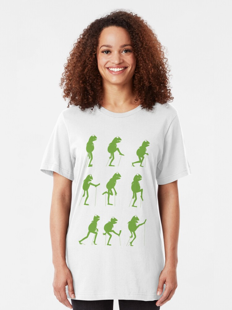 Alternate view of Ministry of Silly Muppet Walks Slim Fit T-Shirt
