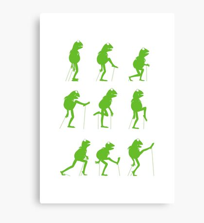Ministry of Silly Muppet Walks Canvas Print