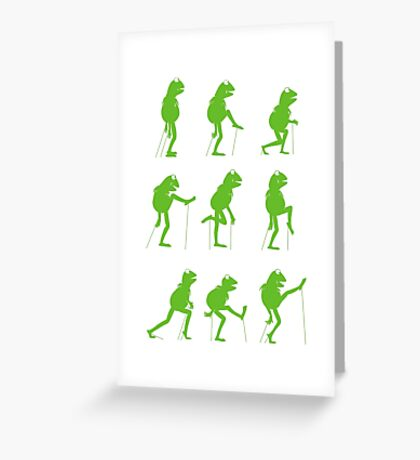 Ministry of Silly Muppet Walks Greeting Card