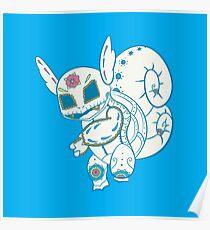 Wartortle Pokemuerto Poster