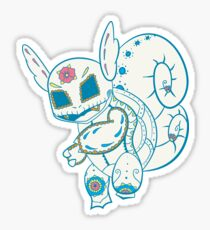 Wartortle Pokemuerto Sticker