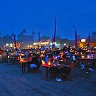 diners in Jimbaran by Michael Brewer