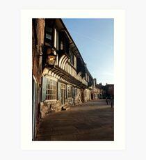 York houses Art Print