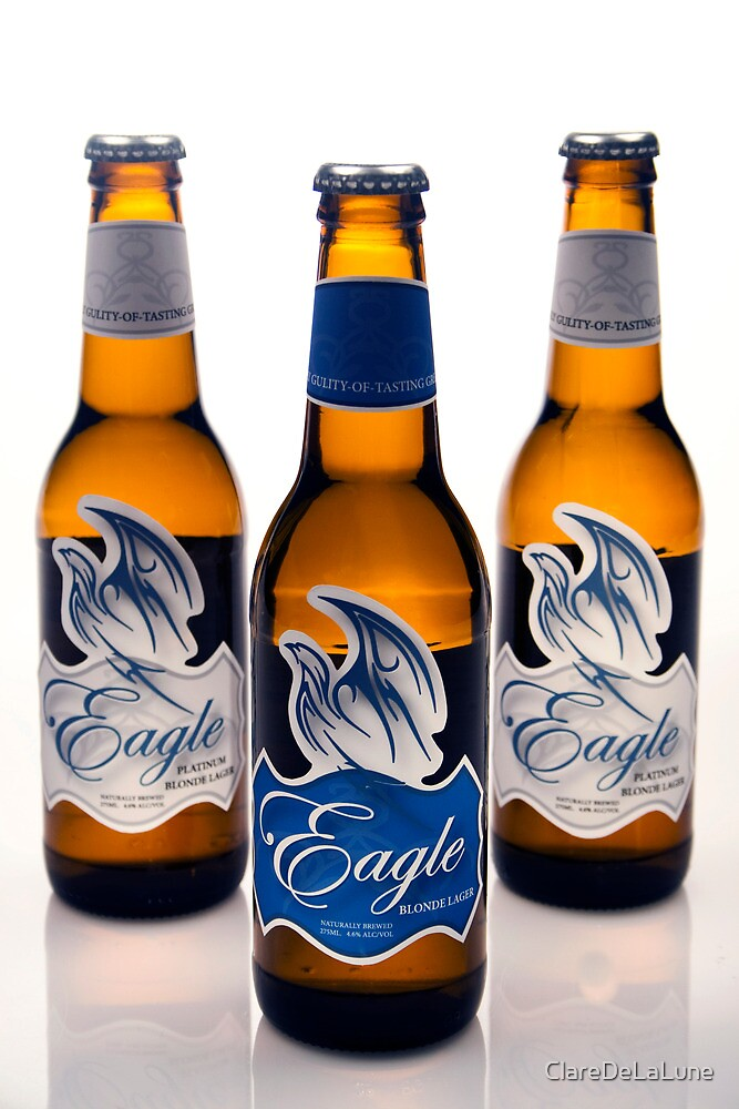 Eagle Beer by ClareDeLaLune