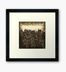 City utopia Framed Print