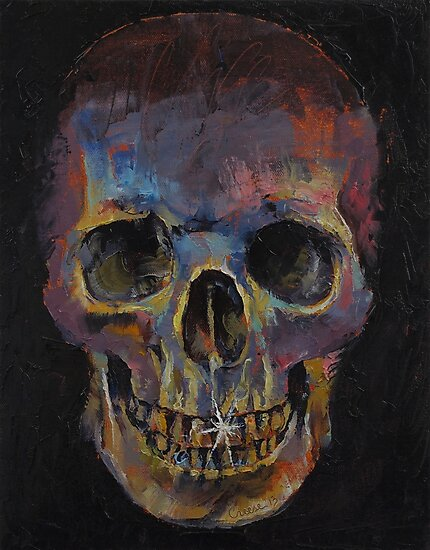 Skull by Michael Creese