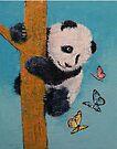 Panda Butterflies by Michael Creese