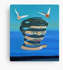 Mr Blue Sky Canvas Print