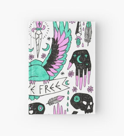 Live Free Hardcover Journal