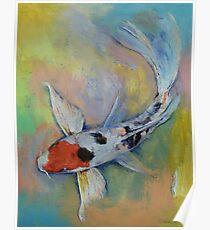 Maruten Butterfly Koi Poster