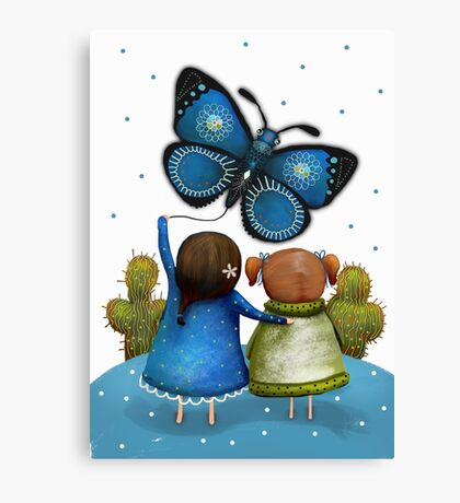 Butterfly Kite Canvas Print