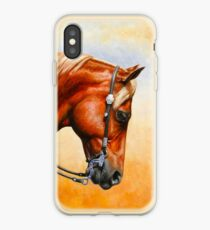Western Pleasure Horse iPhone Case