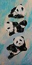 Panda Karate by Michael Creese