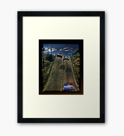 This Was A Bad Idea Framed Print