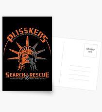 Snake Plissken's  Search & Rescue Pty Ltd Postcards