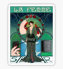 Sherlock Nouveau: Irene Adler Sticker