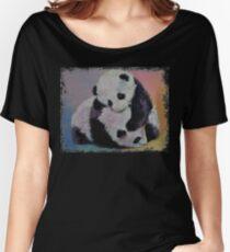 Baby Panda Rumble Women's Relaxed Fit T-Shirt