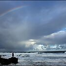 rainbow fishing by Greg Parfitt
