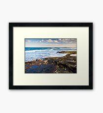 Kings Beach - Caloundra Framed Print