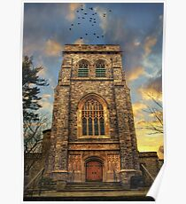 Sunset Gothic Poster