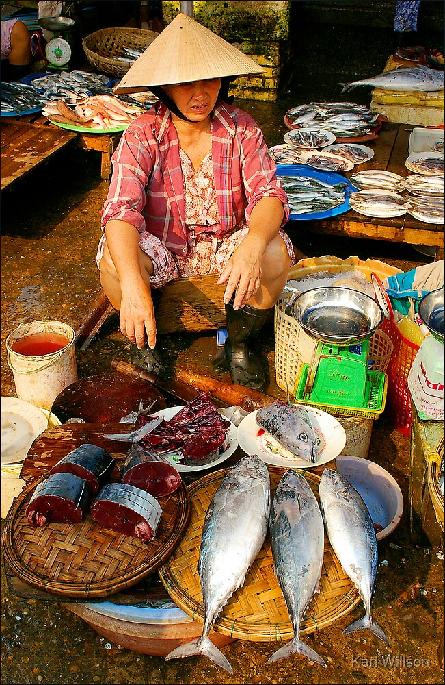 Fish For Sale by Karl Willson