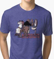 Bearhound Barbershop Tri-blend T-Shirt