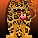 LOVELY LEOPARD (card) by matt40s