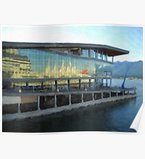 The Vancouver Convention Centre Poster