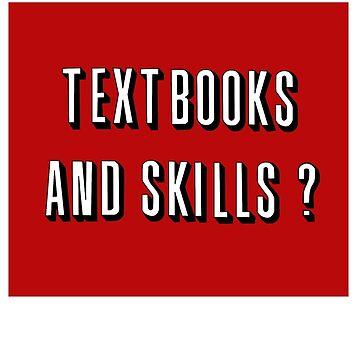 textbook and skills by bigosodesign