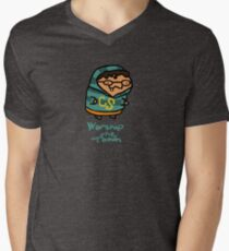 Worship The Tooth Mens V-Neck T-Shirt