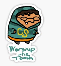 Worship The Tooth Sticker