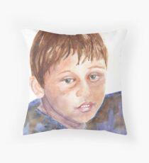 CURTIS D. W. Throw Pillow