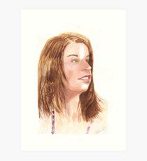 ALEXA G.C. Art Print