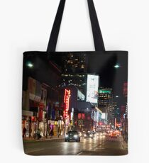 Downtown Yonge Street From North of Walton Tote Bag