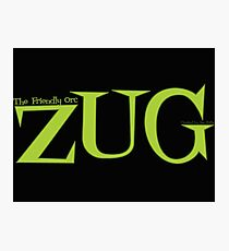 ZUG TITLE! Photographic Print